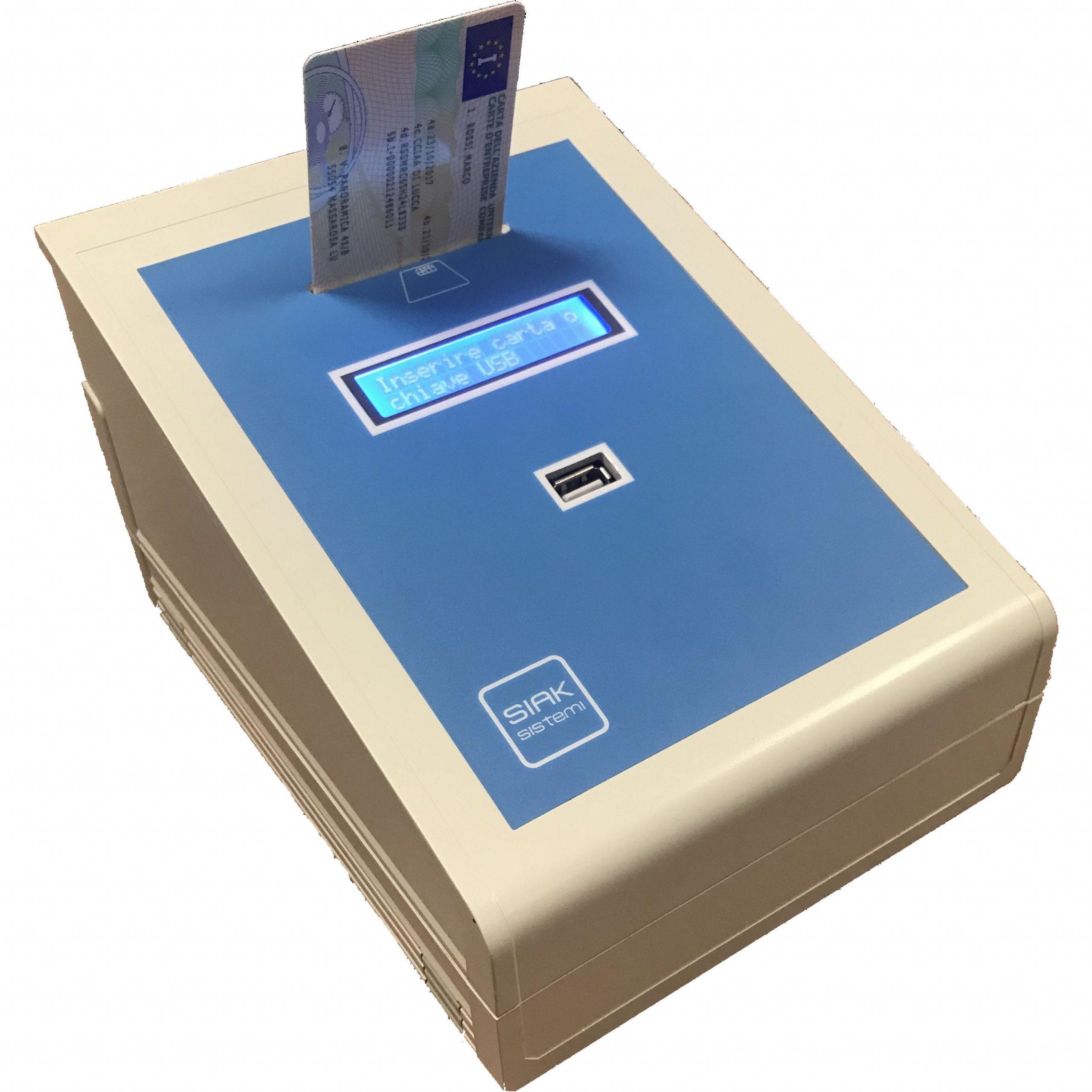 Terminale automatico per postazione non presidiata
